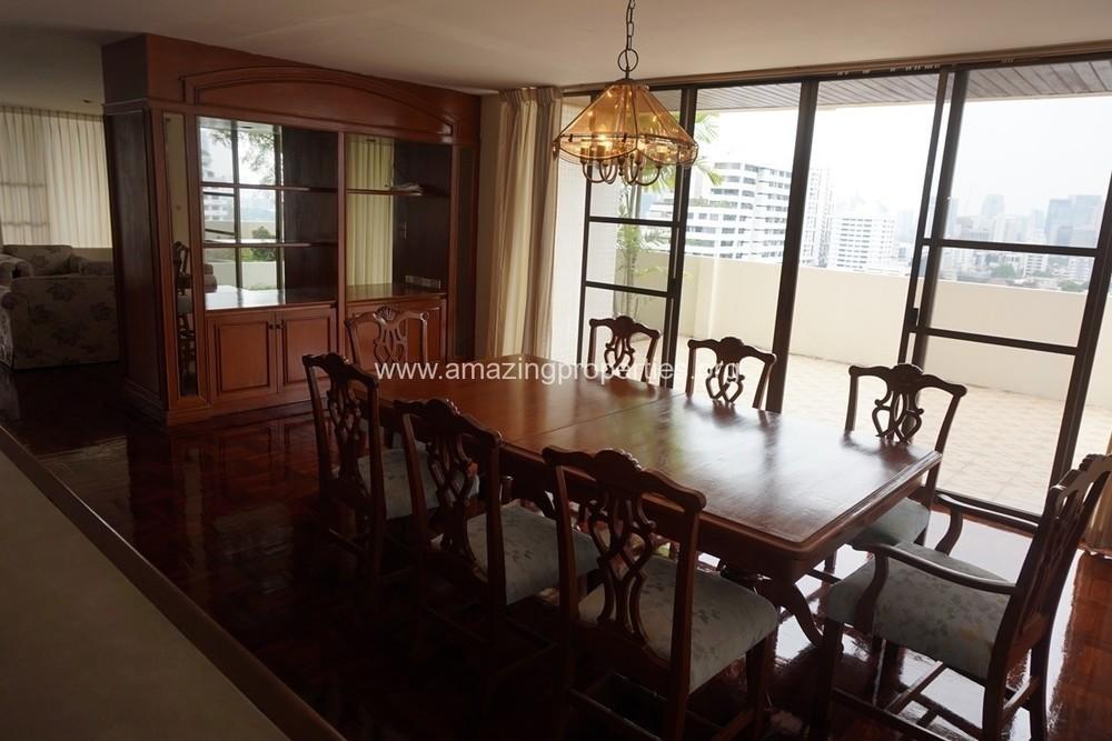 Sriratana Mansion 1 - В аренду: Кондо с 4 спальнями возле станции BTS Asok, Bangkok, Таиланд | Ref. TH-KIOHPMHQ