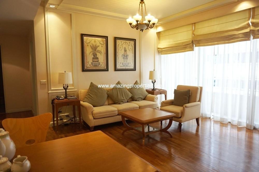 Langsuan Ville - For Rent 1 Bed Condo Near BTS Chit Lom, Bangkok, Thailand | Ref. TH-NRNITFWO