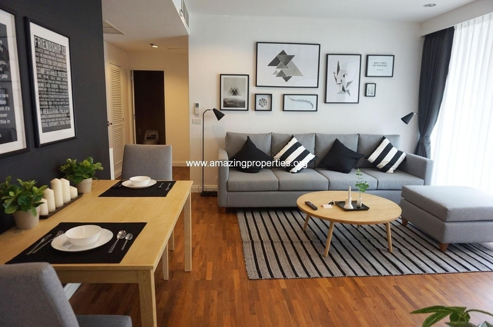 Langsuan Ville - For Rent 2 Beds Condo Near BTS Chit Lom, Bangkok, Thailand | Ref. TH-PWQIQGAD