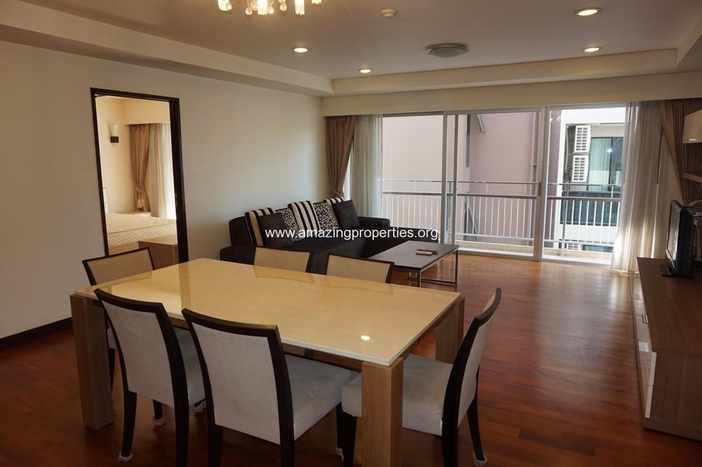 Baan Sukhumvit 14 - В аренду: Кондо с 3 спальнями возле станции BTS Asok, Bangkok, Таиланд | Ref. TH-ZVMTHFBC