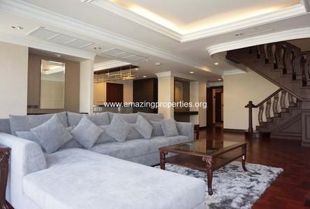 For Rent 4 Beds Condo Near BTS Phloen Chit, Bangkok, Thailand