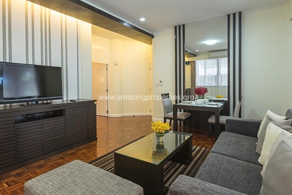 Krystal Court - В аренду: Кондо c 1 спальней возле станции BTS Nana, Bangkok, Таиланд | Ref. TH-OBTUHEYV