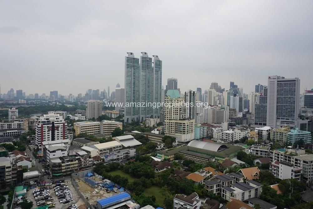 Krungthep Thani Tower - For Rent 3 Beds Condo Near BTS Phrom Phong, Bangkok, Thailand | Ref. TH-QDOHYGBT