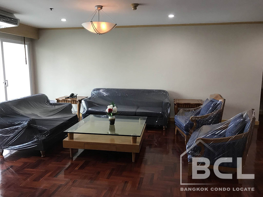 G.M. Tower - For Rent 3 Beds Condo in Khlong Toei, Bangkok, Thailand | Ref. TH-WTELUFOF
