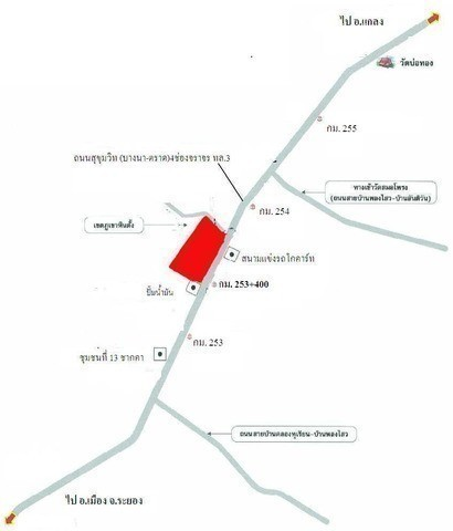 For Sale Land 38 rai in Klaeng, Rayong, Thailand | Ref. TH-JHFLOPWC