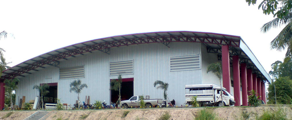 For Sale Warehouse 2,500 sqm in Bang Lamung, Chonburi, Thailand | Ref. TH-TJZJLPXW