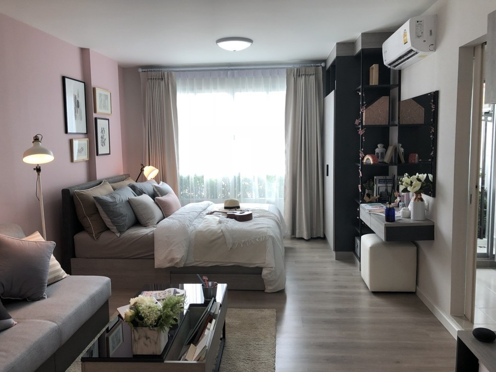 D condo Campus Dome Rangsit - For Sale 1 Bed Condo in Khlong Luang, Pathum Thani, Thailand | Ref. TH-PUDROERO