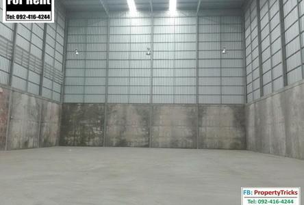 For Rent Warehouse 550 sqm in Lam Luk Ka, Pathum Thani, Thailand