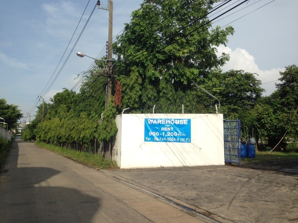 For Rent Warehouse 900 sqm in Phra Khanong, Bangkok, Thailand | Ref. TH-TSTKPEDU