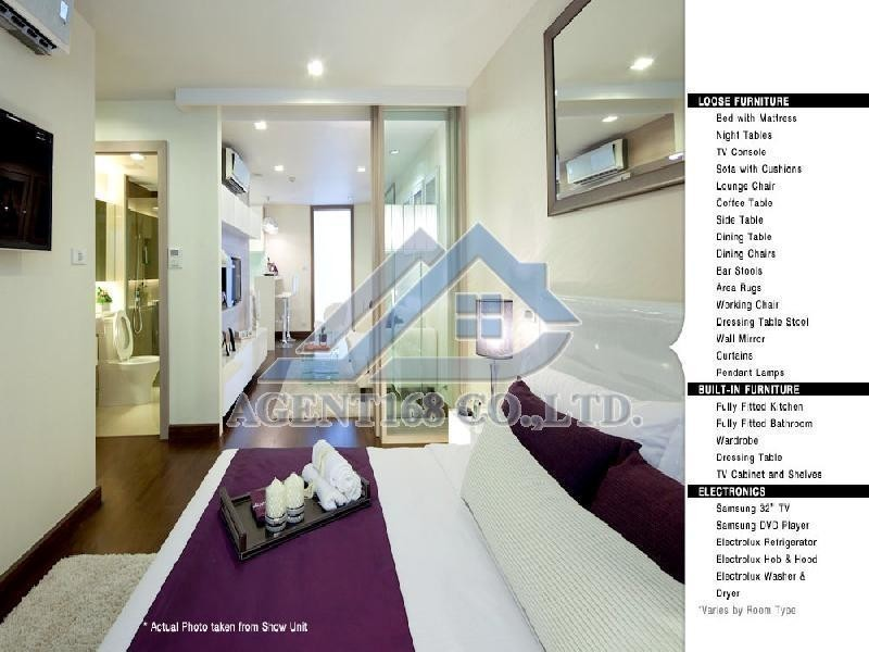 LIV @5 - For Rent 1 Bed Condo Near BTS Nana, Bangkok, Thailand | Ref