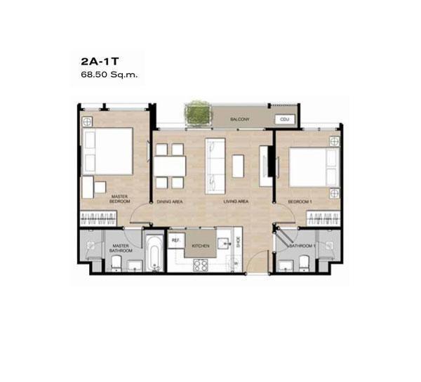โมริ เฮาส์ - ขาย หรือ เช่า คอนโด 2 ห้องนอน ติด BTS อ่อนนุช   Ref. TH-RTBONQRY