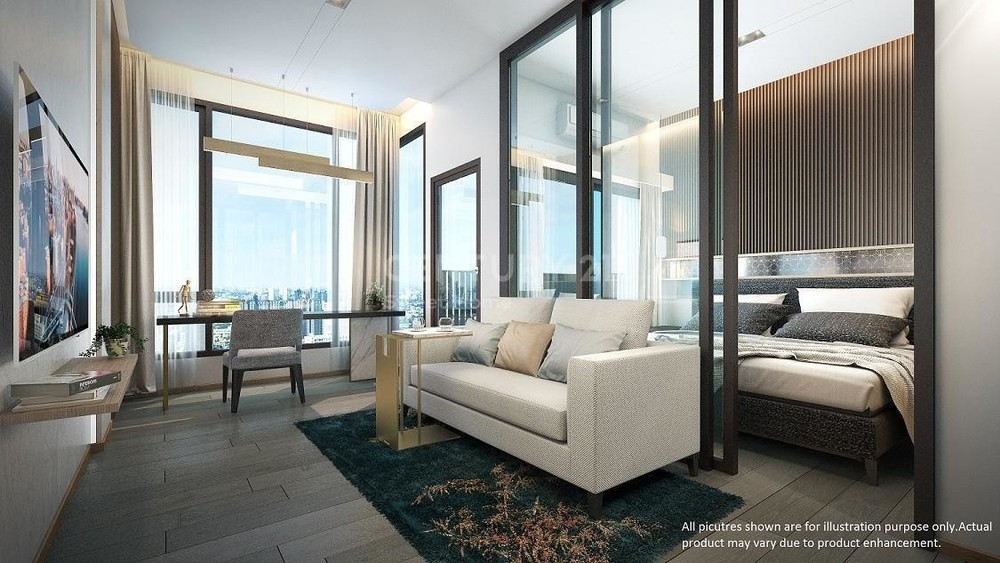 PITI Ekkamai  - For Sale 1 Bed Condo in Watthana, Bangkok, Thailand | Ref. TH-DCQCSEUQ