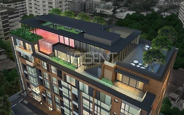 The Unique 19 - For Sale 1 Bed Condo Near MRT Ratchadaphisek, Bangkok, Thailand | Ref. TH-AMZXXUBX