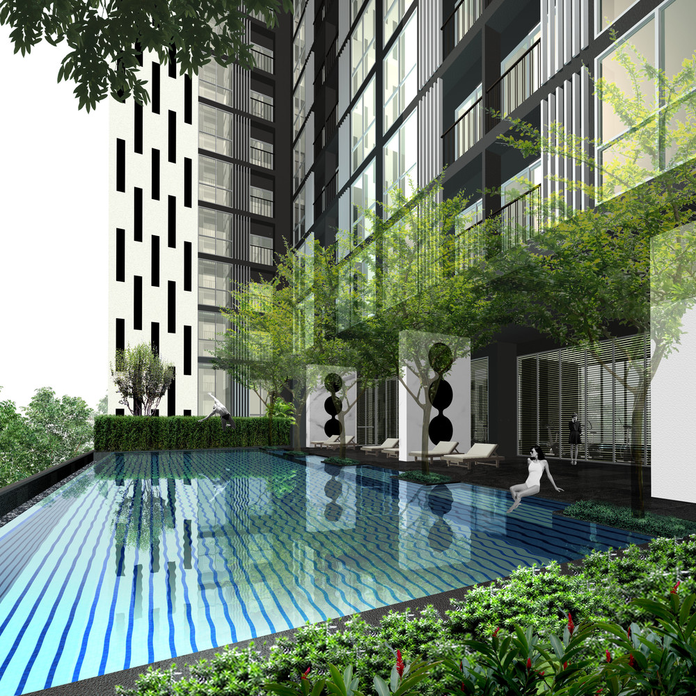 Noble Revolve Ratchada 2 - For Sale 1 Bed コンド Near MRT Thailand Cultural Centre, Bangkok, Thailand | Ref. TH-UNFXJICI