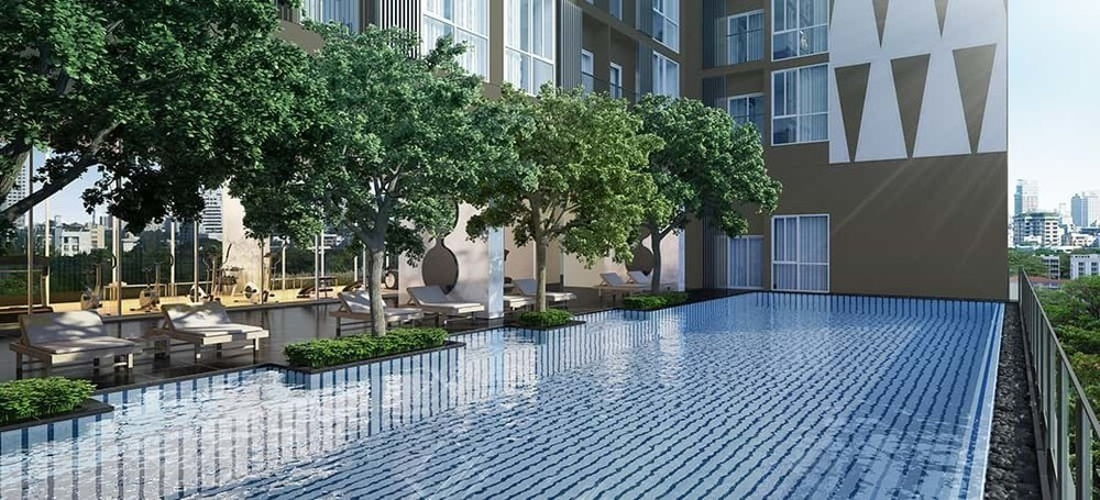 Noble Revolve Ratchada 2 - For Sale 1 Bed Condo Near MRT Thailand Cultural Centre, Bangkok, Thailand | Ref. TH-DVPNOECU