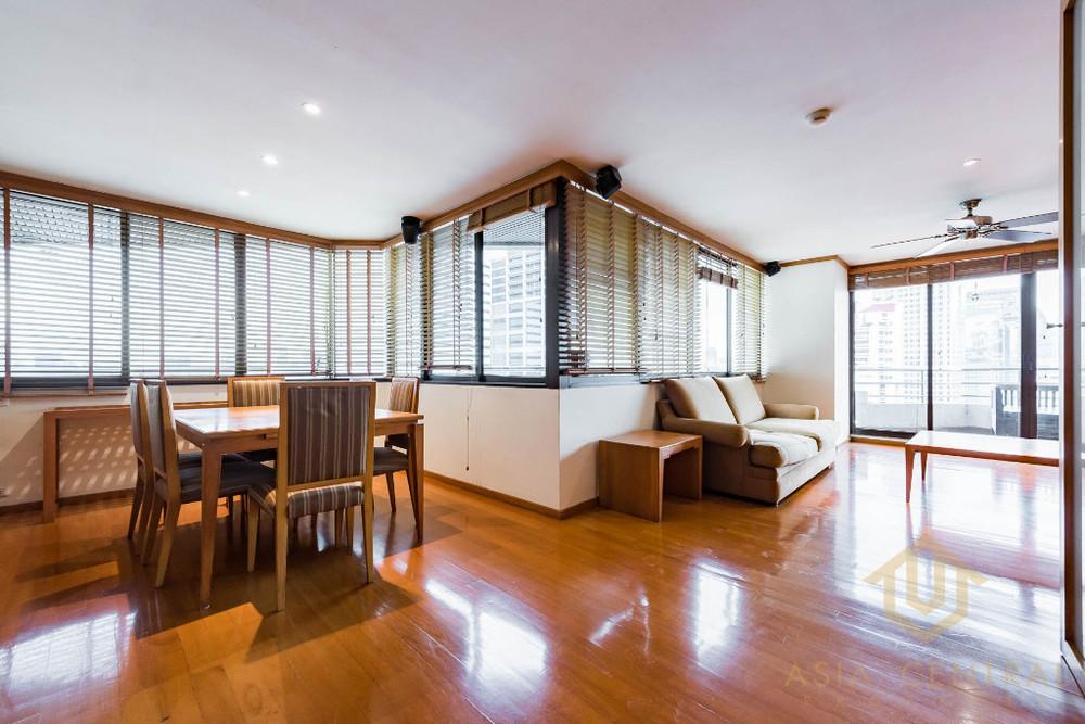 Lake Avenue - For Rent 2 Beds Condo Near BTS Asok, Bangkok, Thailand | Ref. TH-RCSUNKSB