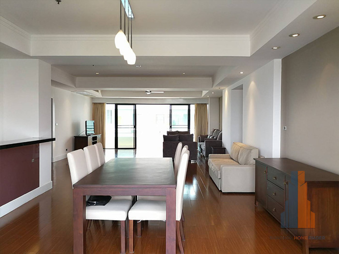 Phirom Garden Residence - For Rent 4 Beds Condo Near BTS Phrom Phong, Bangkok, Thailand | Ref. TH-CGHDOEZJ