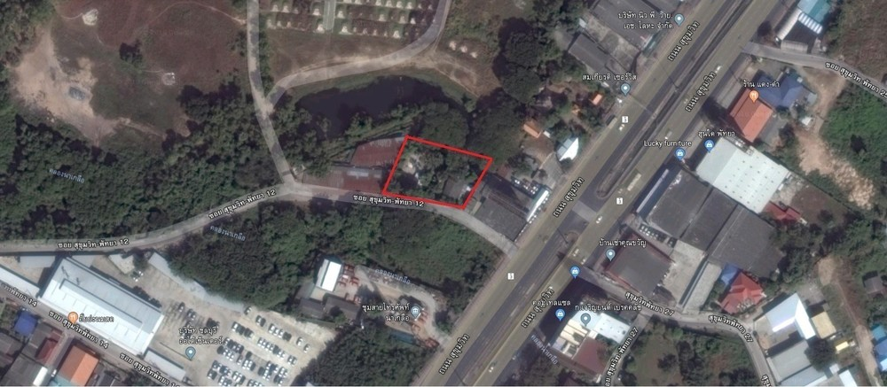 For Sale Land 1-0-12 rai in Bang Lamung, Chonburi, Thailand | Ref. TH-RBDKHBQO