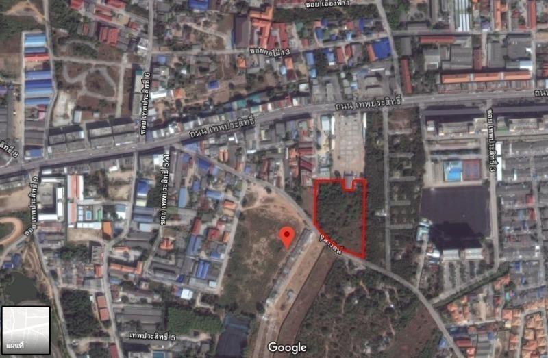 Продажа: Земельный участок 7-1-72 рай в районе Bang Lamung, Chonburi, Таиланд | Ref. TH-KSQGEFVP