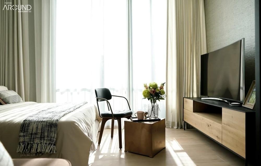 Noble Around 33 - For Sale 1 Bed Condo Near BTS Phrom Phong, Bangkok, Thailand | Ref. TH-WYGENYJB