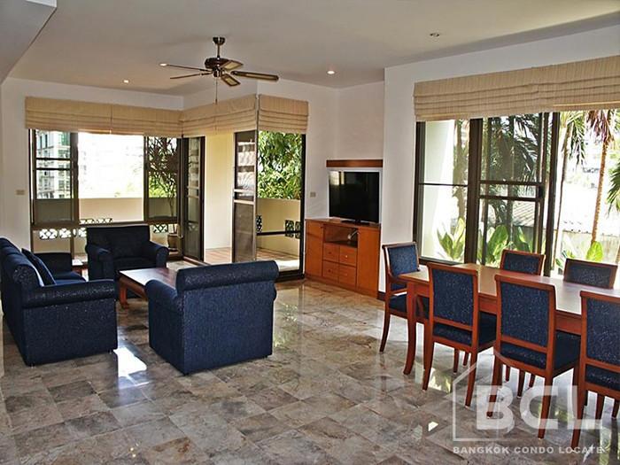 Raintree Village Apartment - For Rent 3 Beds Condo Near BTS Phrom Phong, Bangkok, Thailand   Ref. TH-DUDRWTAJ