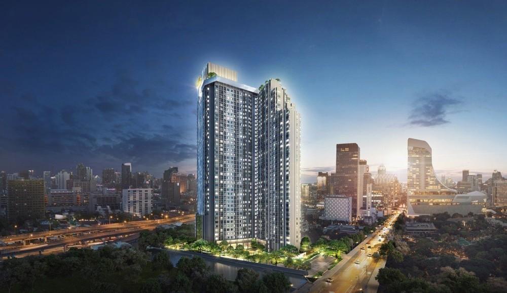 Life One Wireless - For Sale Condo 28 sqm Near BTS Phloen Chit, Bangkok, Thailand | Ref. TH-JVVRETZF