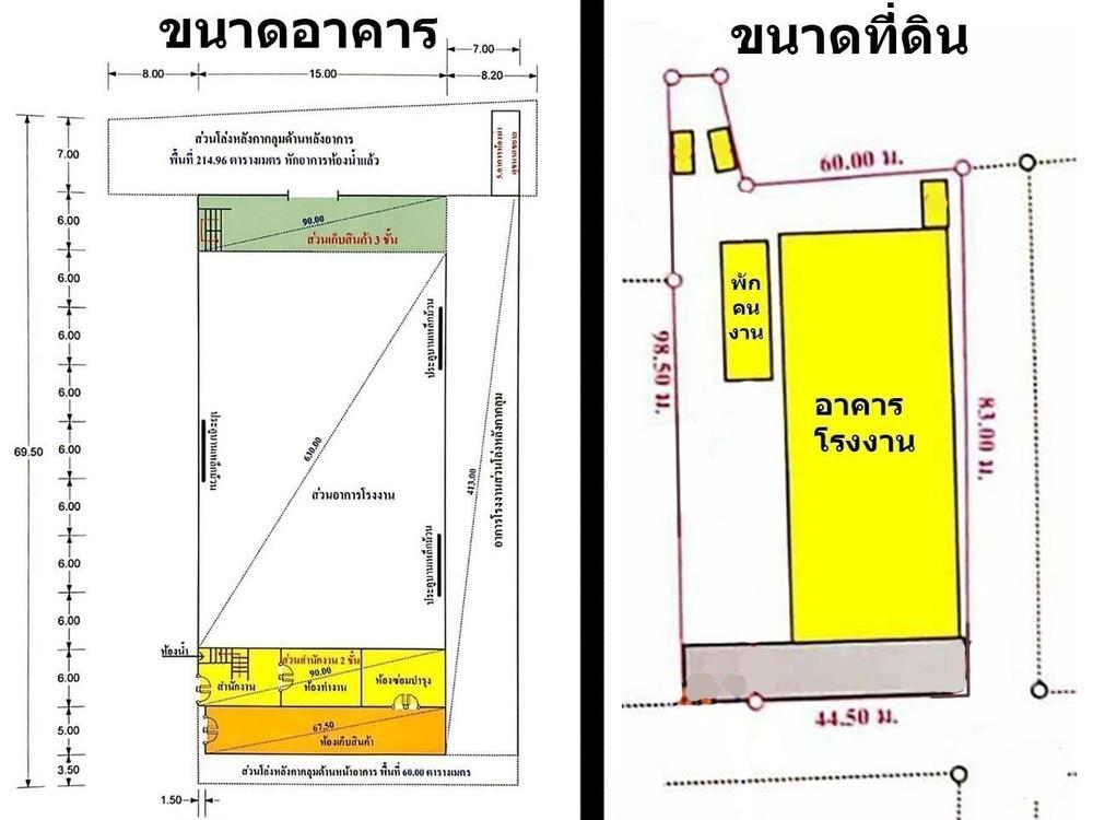 For Sale or Rent Warehouse 2,251 sqm in Mueang Samut Sakhon, Samut Sakhon, Thailand | Ref. TH-MKGVOCLZ