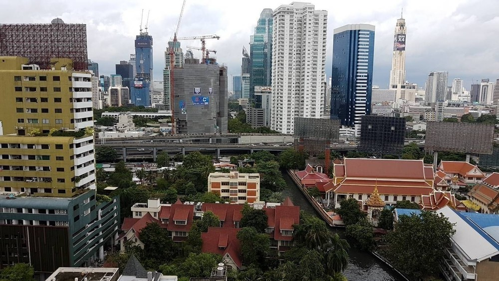First Tower - For Rent 2 Beds Condo in Watthana, Bangkok, Thailand | Ref. TH-XHCHPHIF