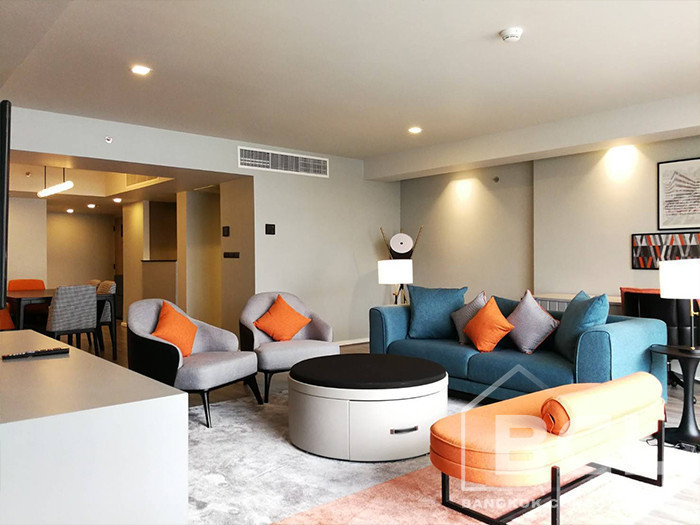 Oakwood Residence - For Rent 3 Beds Condo in Watthana, Bangkok, Thailand | Ref. TH-OYETMVUA