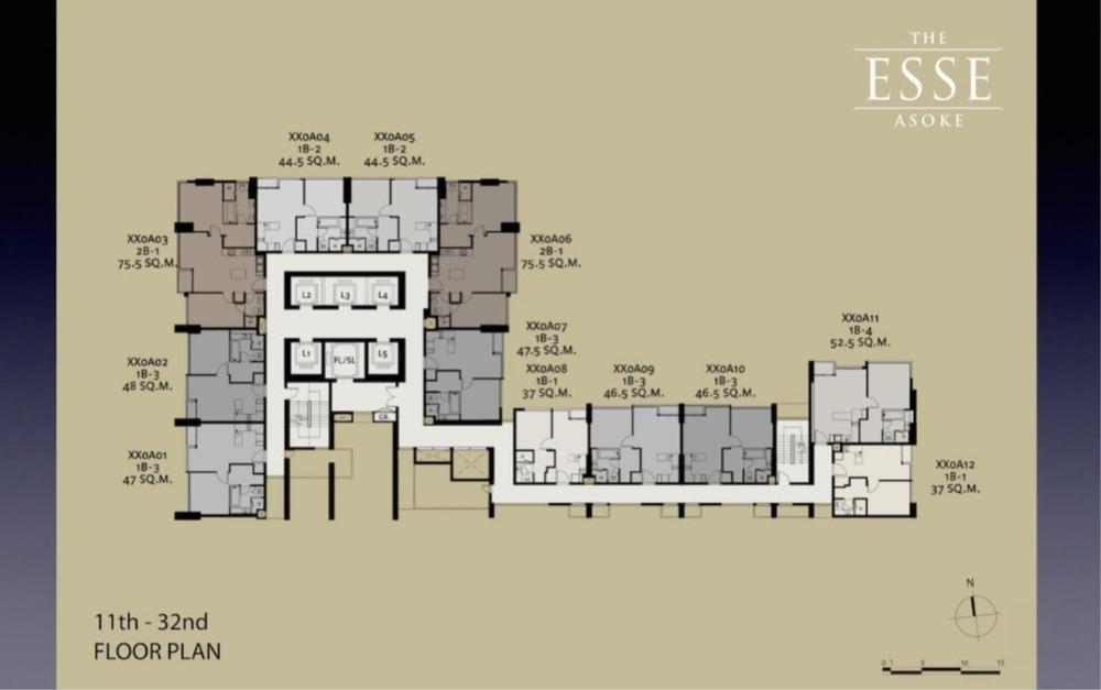 ดิ เอส อโศก - ขาย คอนโด 1 ห้องนอน ติด MRT สุขุมวิท   Ref. TH-NEQBLAPH