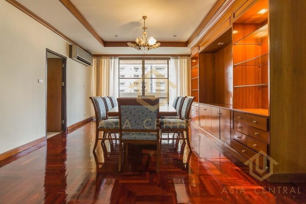 Sriratana Mansion 2 - For Rent 3 Beds Condo Near MRT Sukhumvit, Bangkok, Thailand | Ref. TH-CUPOBIUD