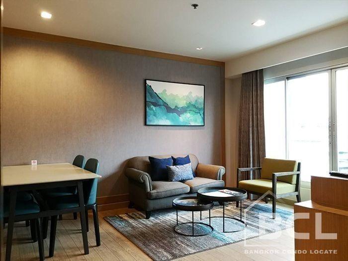 ชามา เลควิว อโศก - ให้เช่า คอนโด 2 ห้องนอน วัฒนา กรุงเทพฯ | Ref. TH-LRVKKIUZ