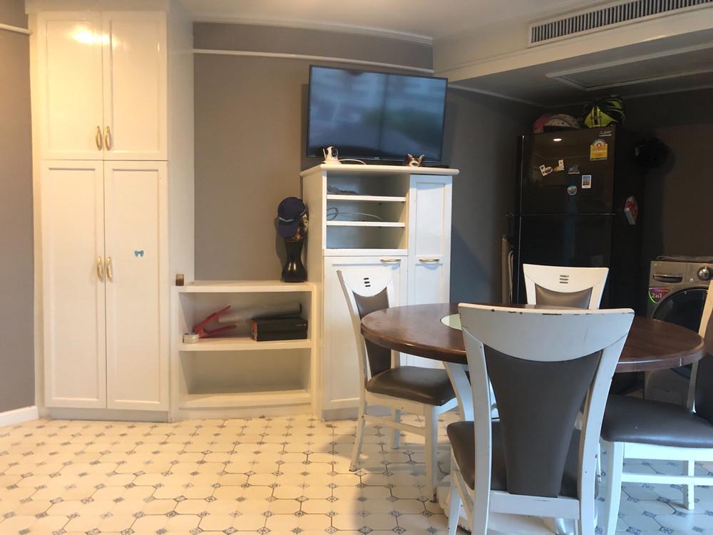Baan Suksan - For Rent 2 Beds Condo in Watthana, Bangkok, Thailand | Ref. TH-ACQUWALD