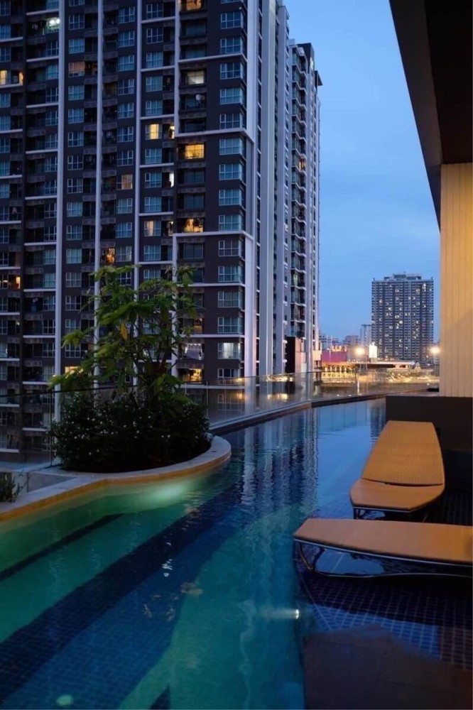Condolette Midst Rama 9 - For Sale or Rent 1 Bed Condo Near MRT Phetchaburi, Bangkok, Thailand | Ref. TH-ETDUXVVD