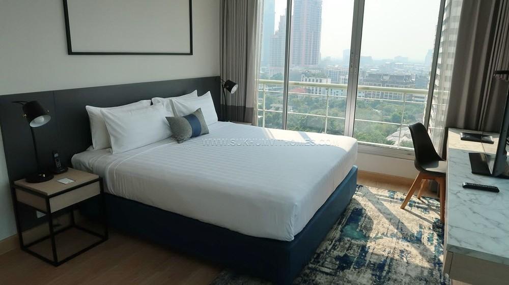 ชามา เลควิว อโศก - ให้เช่า คอนโด 1 ห้องนอน คลองเตย กรุงเทพฯ | Ref. TH-USZBREIB