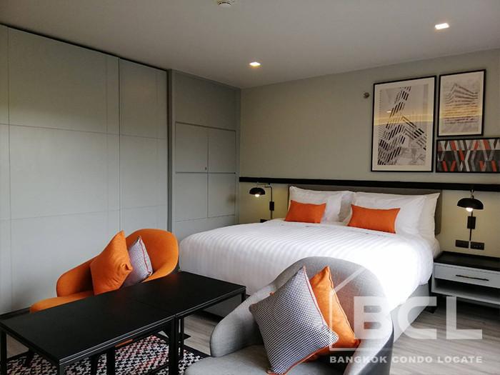 Oakwood Residence - For Rent Condo 46 sqm in Watthana, Bangkok, Thailand   Ref. TH-TNFCIVXP