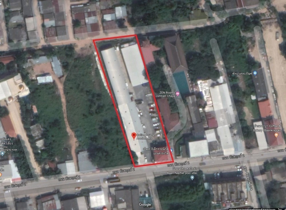 For Sale Warehouse 2-0-150 rai in Bang Lamung, Chonburi, Thailand | Ref. TH-JMZCOHPN