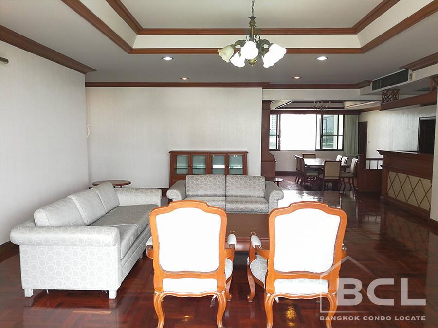 Charan Tower - В аренду: Кондо с 4 спальнями возле станции BTS Phrom Phong, Bangkok, Таиланд | Ref. TH-HNOGEDOU