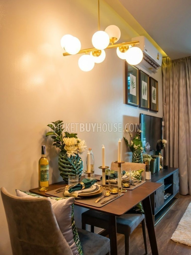 For Sale 1 Bed Condo in Mueang Phuket, Phuket, Thailand | Ref. TH-QCHGYPCS