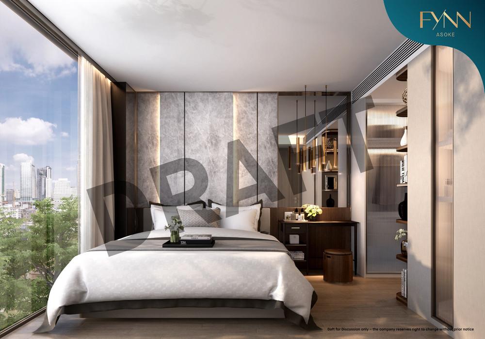 FYNN Asoke - For Sale 1 Bed Condo Near BTS Nana, Bangkok, Thailand   Ref. TH-ZAGDNKJC
