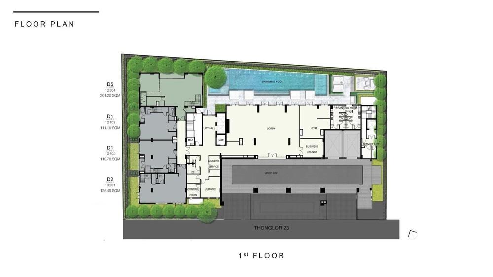 Nivati Thonglor 23 - For Sale 2 Beds Condo in Watthana, Bangkok, Thailand | Ref. TH-VVJQDZLP
