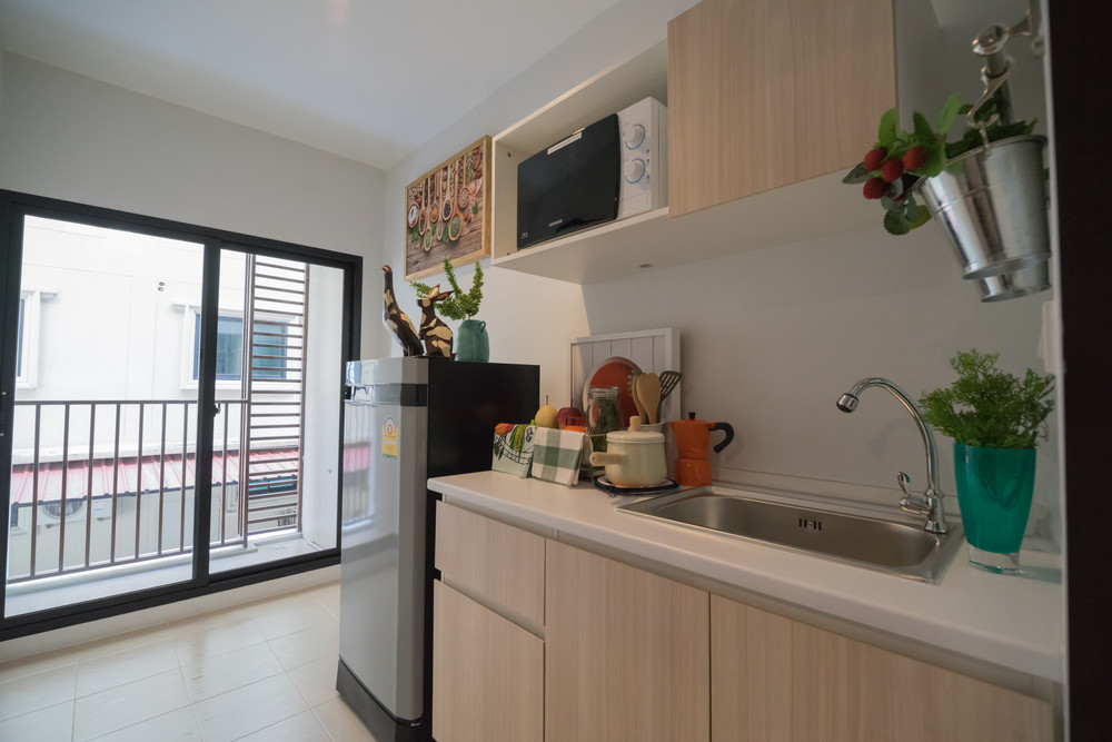 For Rent 1 Bed コンド in Khlong Luang, Pathum Thani, Thailand | Ref. TH-DNXLZHSE