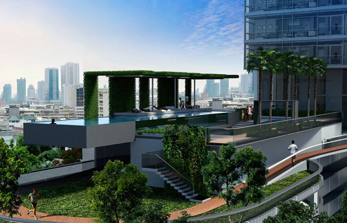 Circle Living Prototype - For Rent 1 Bed Condo in Ratchathewi, Bangkok, Thailand   Ref. TH-RZKPUXOT