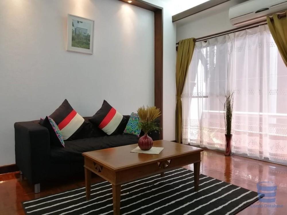 Prasanmit Condominium - For Rent 1 Bed Condo Near MRT Sukhumvit, Bangkok, Thailand   Ref. TH-YDTRGAYC