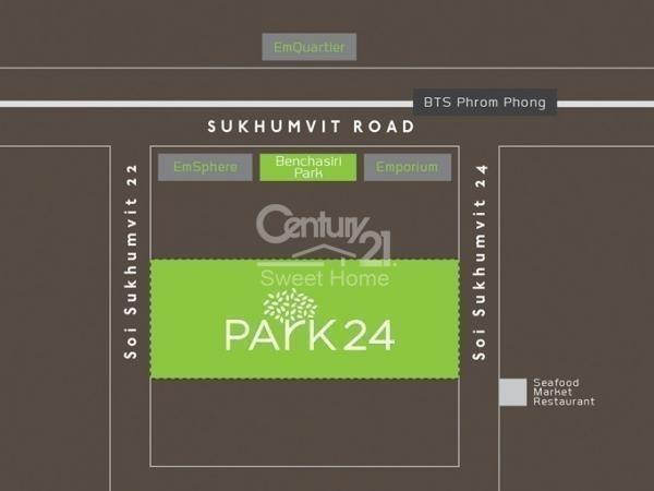 พาร์ค 24 - ขาย คอนโด 1 ห้องนอน ติด BTS พร้อมพงษ์ | Ref. TH-CSXHJTJT