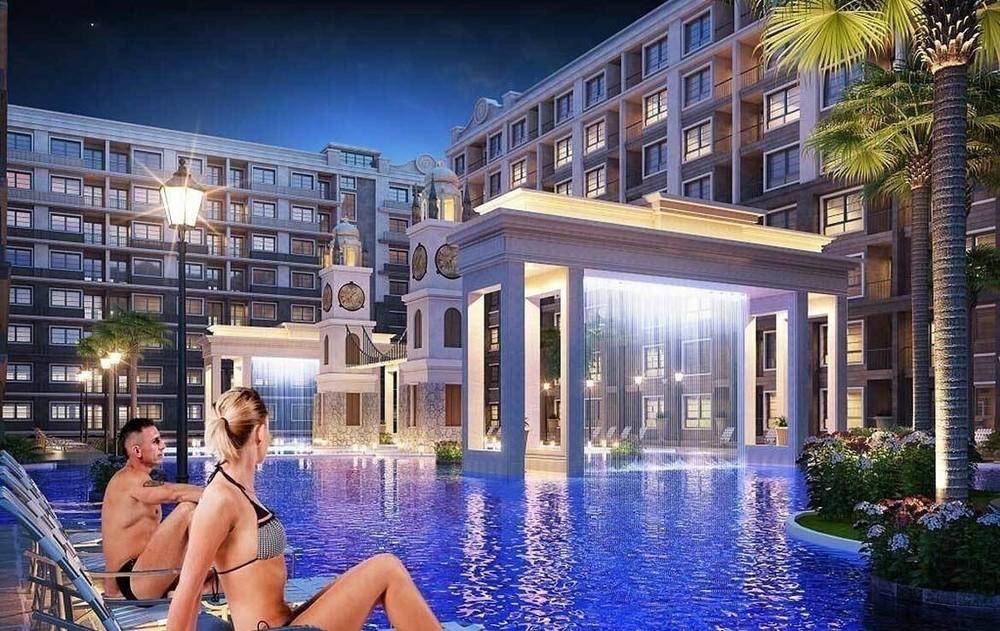 Arcadia Beach Continental - For Sale 2 Beds Condo in Bang Lamung, Chonburi, Thailand | Ref. TH-NNNBIJAB