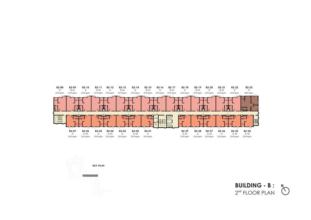 Unio Sukhumvit 72 - Продажа: Кондо c 1 спальней возле станции BTS Bearing, Samut Prakan, Таиланд | Ref. TH-KPXBXVJB