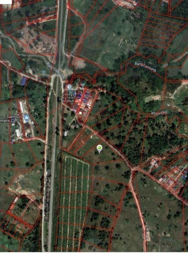 For Sale Land 5-1-42 rai in Bang Lamung, Chonburi, Thailand | Ref. TH-SBWZMOLM