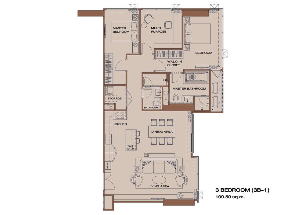 Anil Sathorn 12 - Продажа: Кондо с 3 спальнями возле станции BTS Surasak, Bangkok, Таиланд   Ref. TH-SYORIRWH