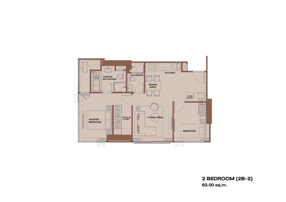 Anil Sathorn 12 - Продажа: Кондо с 2 спальнями возле станции BTS Surasak, Bangkok, Таиланд | Ref. TH-AWHBHGNF